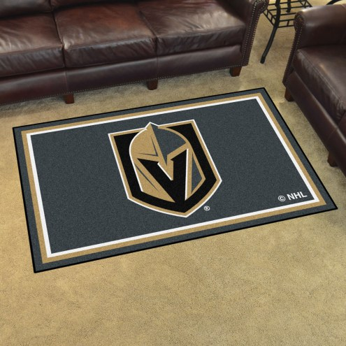 Vegas Golden Knights 4' x 6' Area Rug