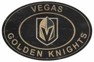 "Vegas Golden Knights 46"" Heritage Logo Oval Sign"