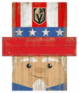 "Vegas Golden Knights 6"" x 5"" Patriotic Head"