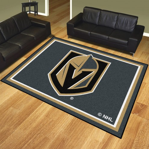 Vegas Golden Knights 8' x 10' Area Rug