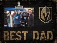 Vegas Golden Knights Best Dad Clip Frame