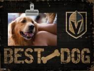 Vegas Golden Knights Best Dog Clip Frame