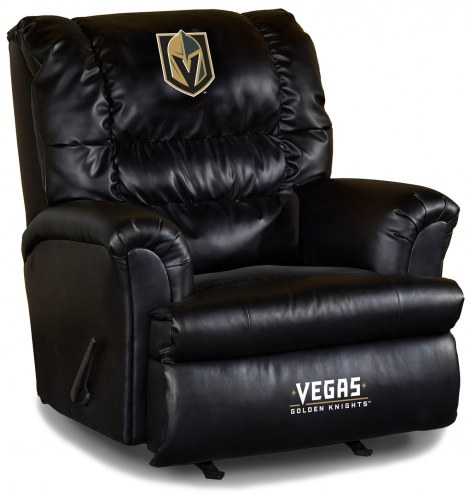 Vegas Golden Knights Big Daddy Leather Recliner