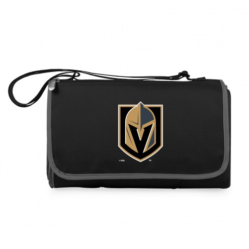 Vegas Golden Knights Black Blanket Tote