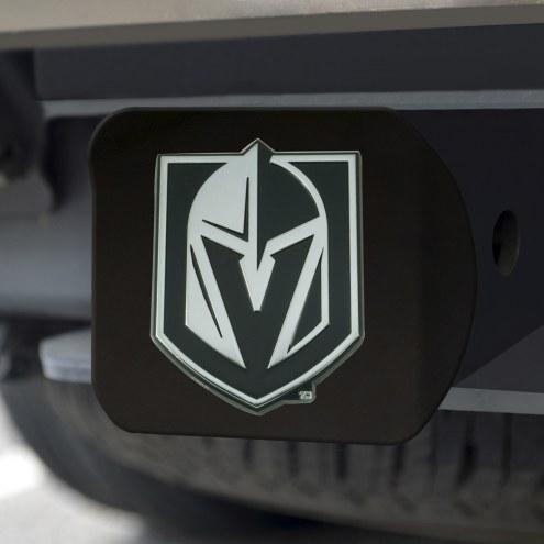 Vegas Golden Knights Black Matte Hitch Cover