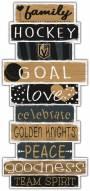 Vegas Golden Knights Celebrations Stack Sign