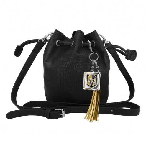 Vegas Golden Knights Charming Mini Bucket Bag