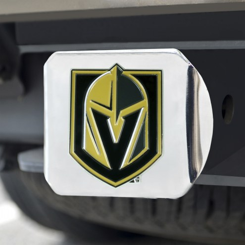 Vegas Golden Knights Chrome Color Hitch Cover