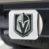 Vegas Golden Knights Chrome Metal Hitch Cover
