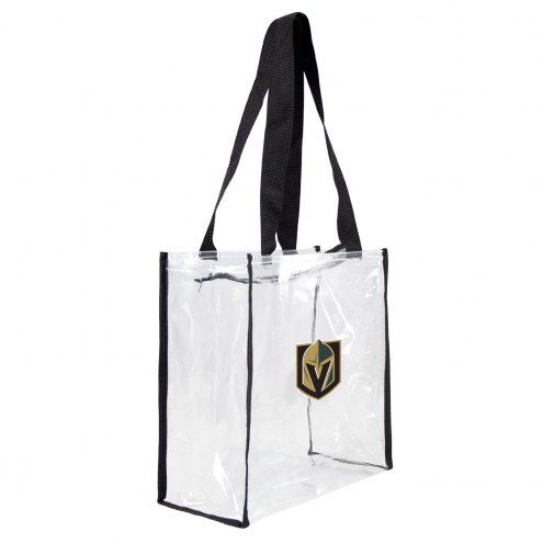 Vegas Golden Knights Clear Square Stadium Tote
