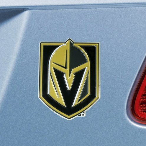 Vegas Golden Knights Color Car Emblem