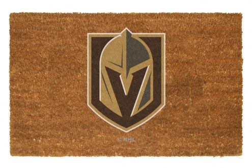 Vegas Golden Knights Colored Logo Door Mat