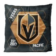 Vegas Golden Knights Connector Double Sided Velvet Pillow
