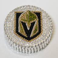 Vegas Golden Knights Swarovski Crystal Hockey Puck