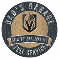 Vegas Golden Knights Dad's Garage Sign