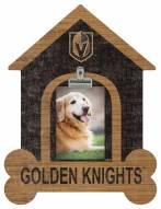 Vegas Golden Knights Dog Bone House Clip Frame