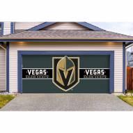 Vegas Golden Knights Double Garage Door Cover