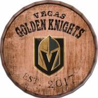 """Vegas Golden Knights Established Date 16"""" Barrel Top"""