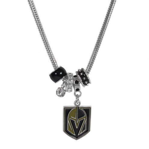 Vegas Golden Knights Euro Bead Necklace