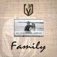 Vegas Golden Knights Family Picture Frame