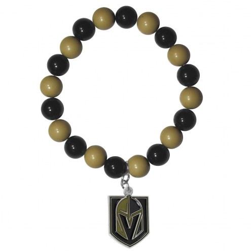 Vegas Golden Knights Fan Bead Bracelet