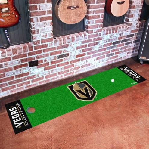 Vegas Golden Knights Golf Putting Green Mat
