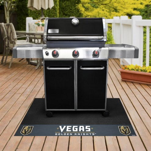 Vegas Golden Knights Grill Mat
