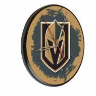 Vegas Golden Knights Digitally Printed Wood Clock