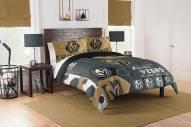 Vegas Golden Knights Hexagon Full/Queen Comforter & Shams Set