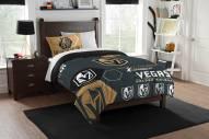 Vegas Golden Knights Hexagon Twin Comforter & Sham Set