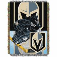 Vegas Golden Knights Home Ice Advantage Throw Blanket