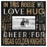 """Vegas Golden Knights In This House 10"""" x 10"""" Picture Frame"""