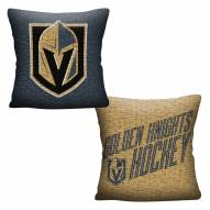 Vegas Golden Knights Invert Woven Pillow
