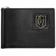 Vegas Golden Knights Leather Bill Clip Wallet