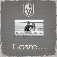Vegas Golden Knights Love Picture Frame