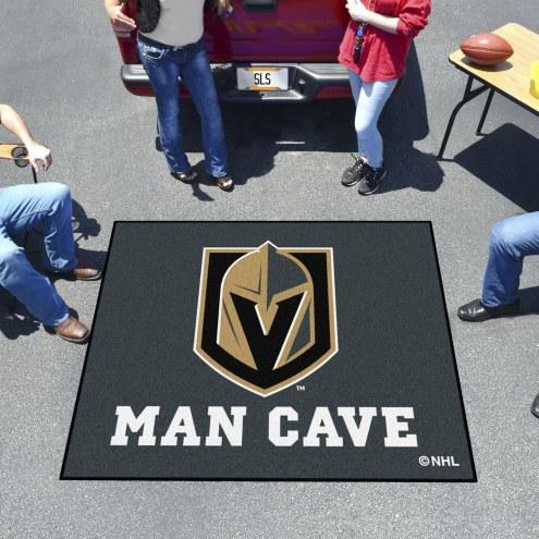 Vegas Golden Knights Man Cave Tailgate Mat