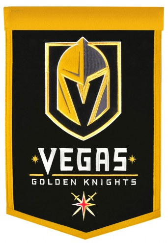 Vegas Golden Knights NHL Traditions Banner
