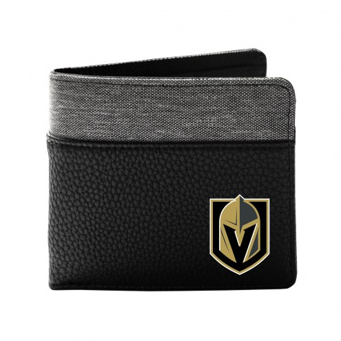 Vegas Golden Knights Pebble Bi-Fold Wallet