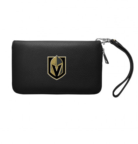 Vegas Golden Knights Pebble Organizer Wallet