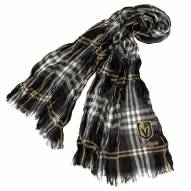 Vegas Golden Knights Plaid Crinkle Scarf