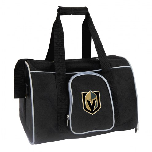 Vegas Golden Knights Premium Pet Carrier Bag