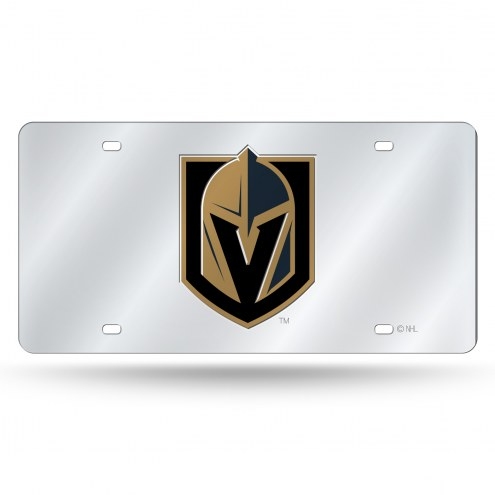 Vegas Golden Knights Laser Cut License Plate