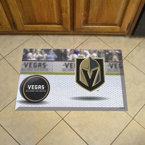 Vegas Golden Knights Scraper Door Mat