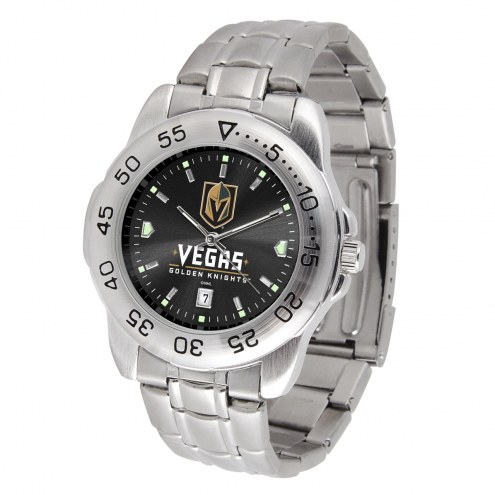 Vegas Golden Knights Sport Steel AnoChrome Men's Watch