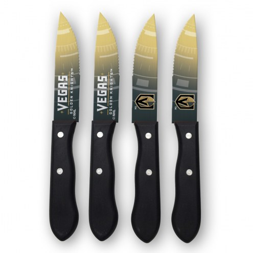 Vegas Golden Knights Steak Knives
