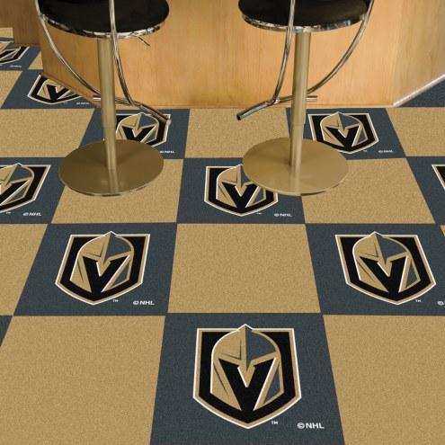 Vegas Golden Knights Team Carpet Tiles
