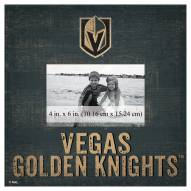 """Vegas Golden Knights Team Name 10"""" x 10"""" Picture Frame"""