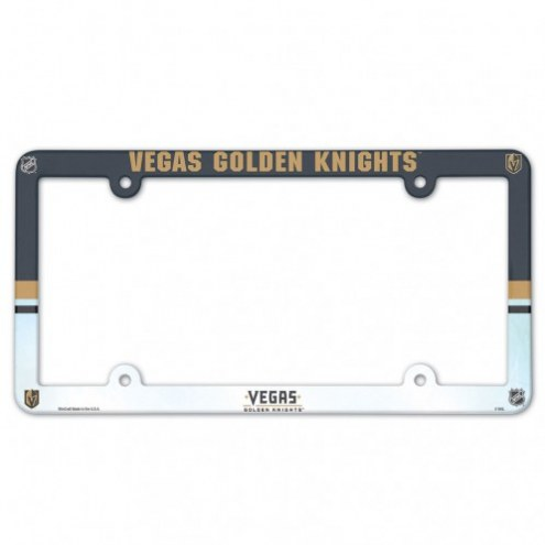 Vegas Golden Knights License Plate Frame