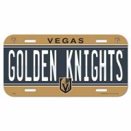 Vegas Golden Knights License Plate