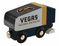 Vegas Golden Knights Wood Zamboni Toy Train